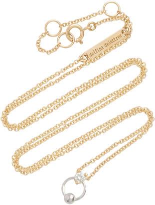Delfina Delettrez 18K Gold Diamond Necklace