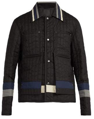 Craig Green Panelled Quilted Nylon Jacket - Mens - Black