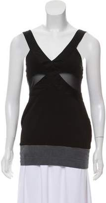 VPL Sleeveless Flared Top