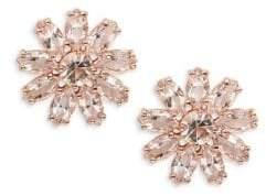 Kate Spade Crystal Gardens Floral Stud Earrings