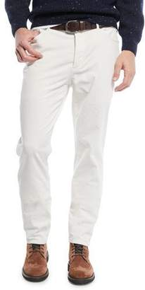 Brunello Cucinelli Men's 5-Pocket Fine-Wale Corduroy Pants