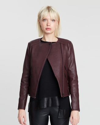 Fulton Leather Jacket
