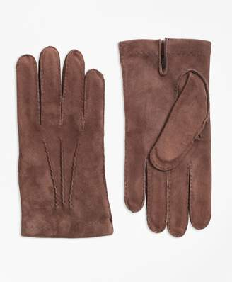 Brooks Brothers Suede Gloves