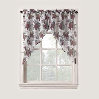 """No918 Wine Country Swag Curtain Pair - 54"""" x 38"""""""