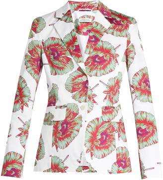 Altuzarra Fenice abstract-floral print blazer