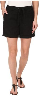 Dockers Misses Linen Jogger Shorts $44 thestylecure.com