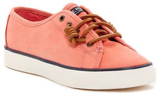 Sperry Seacoast Nubuck Sneaker $85 thestylecure.com