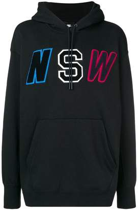Nike lettered designed hoodie