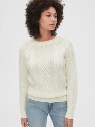 Gap Cable-Knit Crewneck Sweater