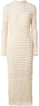 The Row Fairy Crocheted Silk-blend Gown - Ecru