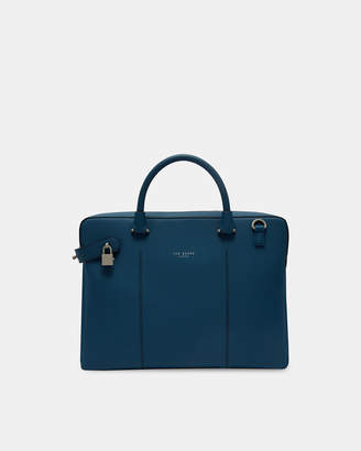 Ted Baker CARAB Rubber-look document bag