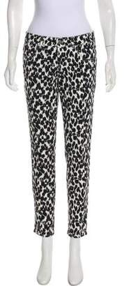 Stella McCartney Mid-Rise Patterned Jeans