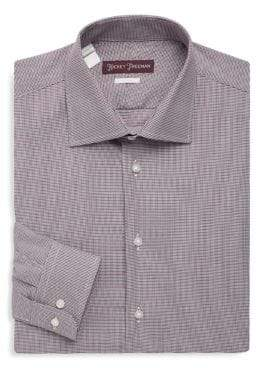 Hickey Freeman Two-Tone Dress Shirt