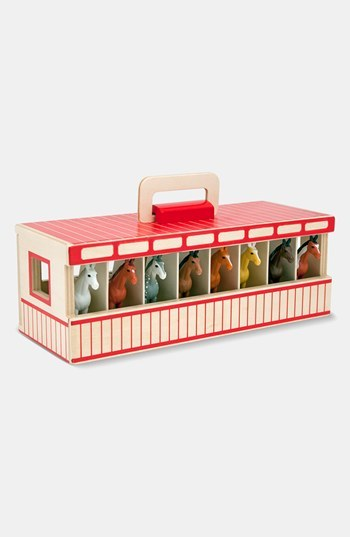 Toddler Melissa & Doug Show Horse Stable