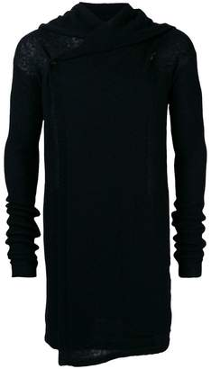 Rick Owens long hooded sweater