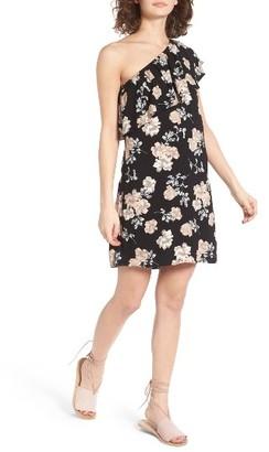Women's Love, Fire One-Shoulder Dress $45 thestylecure.com