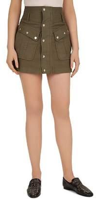 The Kooples Military Mini Skirt