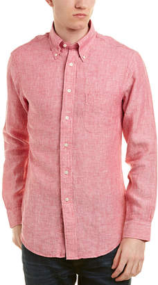 Brooks Brothers 1818 Regent Fit Linen Woven Shirt