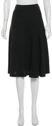 Veronique Branquinho Wool Knee-Length Skirt
