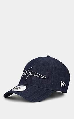 d8f25cb7 Yohji Yamamoto Men's 39Thirty Logo Denim Baseball Cap - Blue