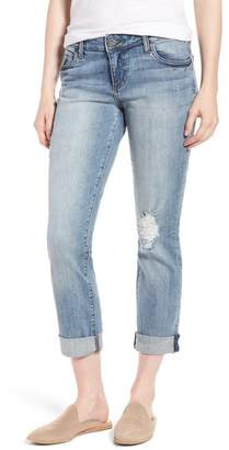 KUT from the Kloth Catherine Distressed Boyfriend Jeans (Announce)