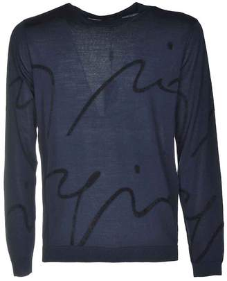 Armani Collezioni Armani Abstract Design Sweater