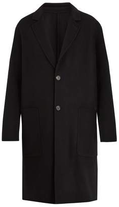Ami Double-faced wool overcoat