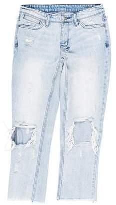 Ksubi Mid-Rise Straight-Leg Jeans