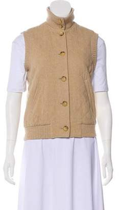 Ralph Lauren Black Label Wool Quilted Vest