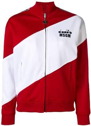 MSGM X Diadora sports jacket