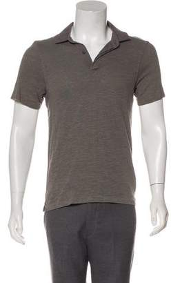 Rag & Bone Knit Polo Shirt
