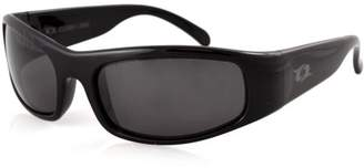 clear Lake Manatee Smoked Polarized Lens Sunglasses, Black