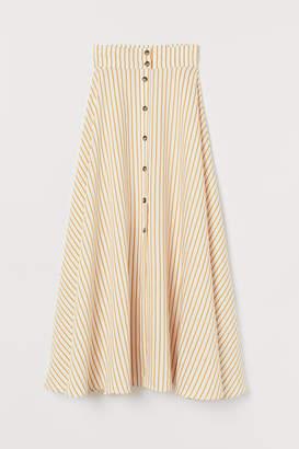 H&M Lyocell-blend bell-shape skirt