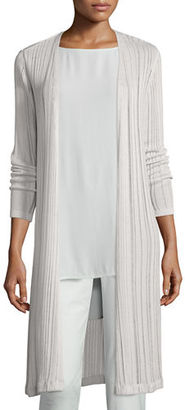 Eileen Fisher Linear Knit Maxi Cardigan $318 thestylecure.com