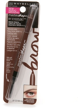 Maybelline EyeStudio Master Shape Brow Pencil Soft Brown