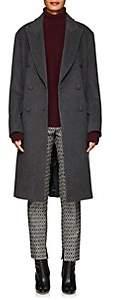 Officine Generale Women's Clemence Wool Coat - Dark Gray