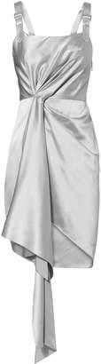 Fleur Du Mal Cascade Silver Dress