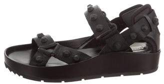Balenciaga Arena Flatform Sandals