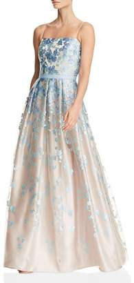 Eliza J Floral Ball Gown