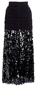 Rachel Comey Women's Tears Sequins Glare A-Line Skirt