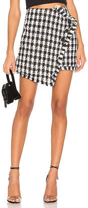 J.o.a. Tweed Mini Skirt