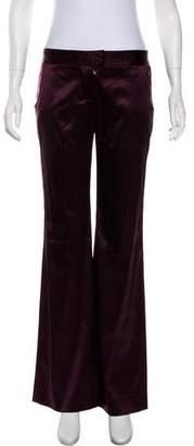 Stella McCartney Mid-Rise Silk Pants
