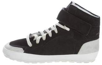 Etoile Isabel Marant Bessy Hip Hop High-Top Sneakers s