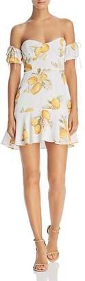 For Love & Lemons Lemonade Off-the-Shoulder Dress