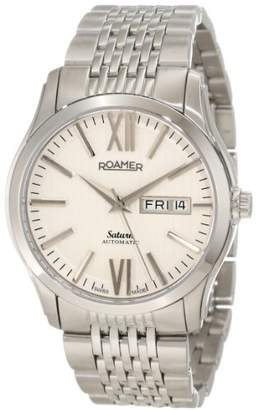 Roamer of Switzerland Men's 941637 41 13 90 Saturn Automatic Dial Stainless Steel Date Watch