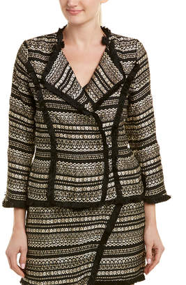 Moon River Metallic Tweed Jacket