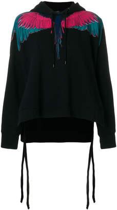 Marcelo Burlon County of Milan Wings poncho hoodie