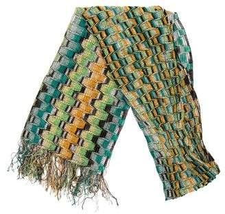 Missoni Knit Pattern Scarf