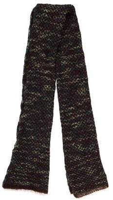 Max Mara Wool Knit Scarf