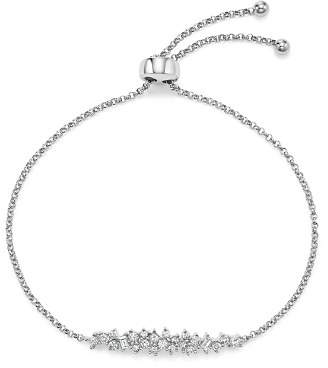 Bloomingdale's Diamond Cluster Bolo Bracelet in 14K White Gold, .50 ct. t.w. - 100% Exclusive